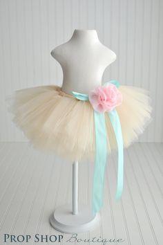 Alyssa Tulle Skirt, Special Occasion, Birthday, Photo Prop. $48.00, via Etsy.