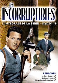 Les Incorruptibles (The Untouchables) est une série télévisée policière américaine en un pilote de 90 minutes et 118 épisodes de 50 minutes, créée par Quinn Martin et diffusée entre le 20 avril 1959 et le 21 mai 1963 sur le réseau ABC.En France, la série a été diffusée à partir du 5 janvier 1964 sur R.T.F. Télévision puis sur la première chaîne de l'O.R.T.F........SOURCE WIKIPEDIA.ORG.........