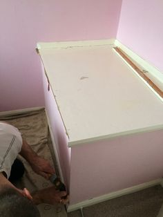 Step 1: Removing the bulkhead. Box Room Beds, Box Room Bedroom Ideas, Home Bedroom, Girls Bedroom, Bulkhead Bedroom, Stairs Bulkhead, Bedroom Color Schemes, Bedroom Colors, Building A Stud Wall