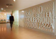 Branding Wall Text