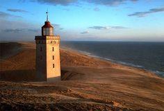 Faro vicino a Rubjerg Knude, Danimarca - Foto di D. Reimann