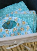 sewing a baby gift set