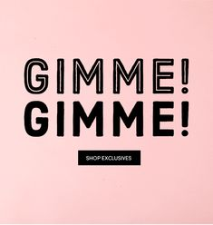 Betsey Johnson Newsletter Email Gimme Gimme! Shop Exclusive Jewelry