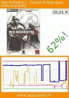 Red Orchestra 2 : Heroes of Stalingrad [import anglais] (Jeu vidéo). Réduction de 62%! Prix actuel 10,21 €, l'ancien prix était de 26,93 €. https://www.adquisitio.fr/lace-mamba/red-orchestra-2-heroes-of