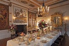 Paleis het Loo - Eetzaal / Dining Room, ca. 1690. Apeldoorn, The Netherlands