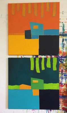 myrta biberstein Collage, Painting Abstract, Collages, Collage Illustration, Colleges