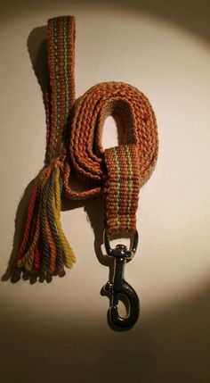 Handwoven Inkle Dog Pet Lead Leash Fall Autumn by martelvonc