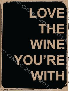 Love Wine You Are with Metal Sign Contemporary Bistro Bar Restaurant Decor | eBay
