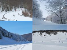 When there's enough snow during winter you can-cross country-ski here. Villa Celiera Sci club, Abruzzo (Italy)