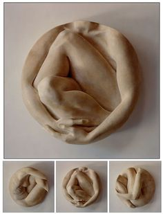 Wiege I, II und III von Tanya Ragir - 2002 # Skulptur ist Liebe - fantasy work - Sculptures Céramiques, Art Sculpture, Pottery Sculpture, Human Sculpture, Sculpture Projects, Plaster Sculpture, Sculpture Ideas, Ceramic Sculptures, Bronze Sculpture