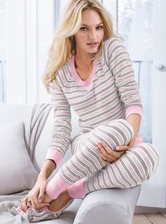 The Fireside Long Jane Pajama #VictoriasSecret http://www.victoriassecret.com/sleepwear/pajamas/the-fireside-long-jane-pajama?ProductID=69666=OLS?cm_mmc=pinterest-_-product-_-x-_-x