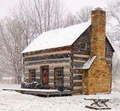 gorgeous log cabin