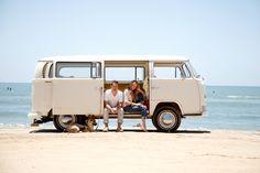 love the VW on the beach! (....photographer Ashlee Raubach)