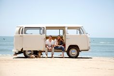 love the VW on the beach! (....photographer Ashlee Raubach)