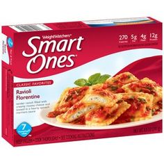 Weight Watchers Smart Ones Classic Favorites Ravioli Florentine, oz Tender ravioli filled with creamy ricotta cheese Tossed in a hearty spinach marinara sauce 270 calories; Microwave Dinners, Microwave Recipes, Microwave Oven, Cooking Steak On Grill, Cooking Bacon, Weight Watchers Smart Ones, Cheese Cultures, Frozen Meals, Cooking Instructions