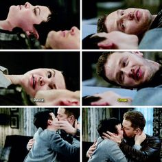 """Snow"" - David and Snow, awakening from the sleeping curse #OnceUponATime"