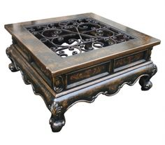Casa Bonita Peruvian Home Furnishings Pascale Handpainted Wood Coffee Table Tuscan Style Homes, Tuscan House, Luxury Furniture, Antique Furniture, Outdoor Furniture, Tuscan Furniture, Victorian Furniture, Painted Furniture, Diy Furniture