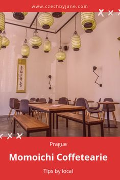 Find the Japanese atmosphere not far from the Prague city center. Enjoy the minimalist design and the food specialties ranging from Japan to the Middle East Prague City, Minimalist Design, Middle East, Lanterns, Gallery Wall, Concept, Japanese, Tea, Unique