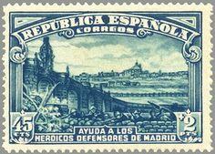 Spain - 1936-39. - GC Madrid, Civilization, Taj Mahal, City Photo, Vintage World Maps, Travel, Art, War, Antiquities