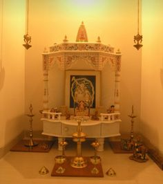 Modern Pooja Room Designs. Know more here: bit.ly/1MANxb5. Because you deserve admirable things in your life, step into Perfect 10. #Pune #Home #Punecity