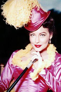 vintagegal:  Ava Gardner on the set of Show Boat (1951)