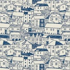 'st.ives' part of the new spring collection by fiona howard for sanderson