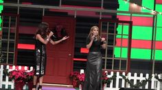Tiany G. Llanos y Yesseika Pacheco Acosta en Regalo Del Cielo 2014  Ambas presentadoras en Regalo Del Cielo 2014 en Iglesia Alfa y Omega Miami, Florida 20 de Diciembre 2014