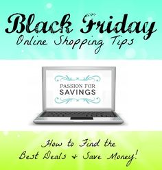 Are you ready for Black Friday Shopping? Check out these Black Friday Online Shopping Tips! #blackfriday #shoppingtips