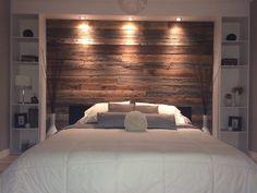 Rustic Bedroom Design, Rustic Master Bedroom, Master Bedroom Makeover, Master Bedroom Design, Dream Bedroom, Home Decor Bedroom, Modern Bedroom, Bedroom Wall, Master Bedrooms