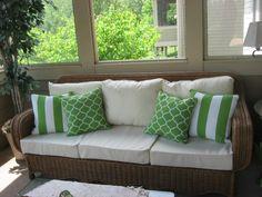 Corded Patio Cushions - Upper Arlington, Ohio