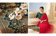 Bridal sarees @ Anjali designer wear ..for orders contact ,9179504192