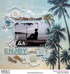 Travel Scrapbook Pages Embellishments Beach Scrapbook Layouts, Travel Scrapbook Pages, Vacation Scrapbook, Scrapbooking Layouts, Scrapbook Quotes, Scrapbook Designs, Bridal Shower Scrapbook, Wedding Scrapbook, Anniversary Scrapbook