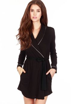 Organic Cotton Robe - OnlyHearts.com