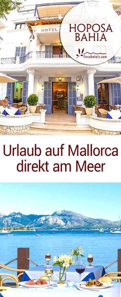 #urlaubammeer  #mallorca #urlaub #hotel  Urlaub am Meer auf Mallorca wird im charmanten Strandhotel Hoposa Bahia Wirklichkeit und dabei genießt du den Luxus einer kleinen, persönlichen Herberge mit nur 34 Zimmern in Port Pollenca. Direkt in der Bucht von Pollenca gelegen, startest du schon morgens beim Frühstück mit dem atemberaubenden Blick auf das tiefblaue Mittelmeer. Nur wenige Schritte trennt das 3-Sterne Hotel vom feinen Sandstrand und dem glasklaren Wasser der schönen Bucht.
