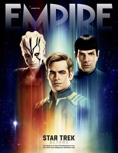 Empire 'Star Trek Beyond' cover