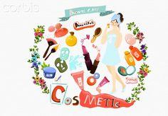 Illustration of cosmetic