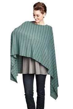 Maternal America Striped Nursing Cover And Scarf | Nursing Apparel www.duematernity.com
