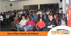 Audiência para discutir novo Plano Diretor de Rifaina reúne 150 pessoas