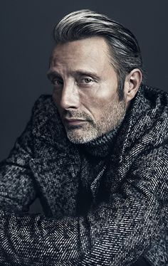 Mads Mikkelsen. Alexa Magazine/New York Post Cover Story Photographed by Henrik Bülow