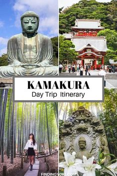 Kamakura Day Trip Travel tips 2019 Kamakura is a perfect day trip destination from Tokyo. This article will guide you through some of the most famous spots you cannot miss! Japan Travel Guide, Asia Travel, Travel Guides, Tokyo Travel, Travel Hacks, Kamakura, Day Trips From Tokyo, Bhutan, Trip Planning