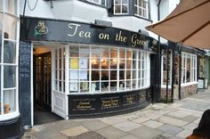 Tea on the Green, Exeter, Devon
