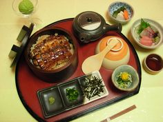 Hitsumabushi ++ Nagoya's specialty food    Grilled Eel on Rice - Enguia grelhada e arroz