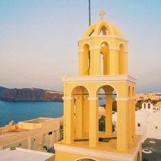 bell tower Oia Santorini, Greece