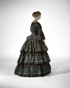 Dress  1854-1856  The Metropolitan Museum of Art  Fifty Shades of Grey romanticizes and abusive relationship.  Instead of buying a ticket, donate to your local domestic abuse shelter.
