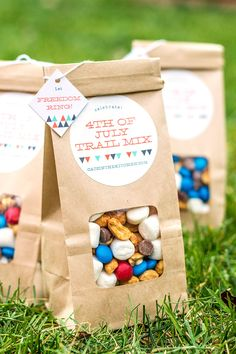 4th of July Trail Mix | Evermine Blog | www.evermine.com