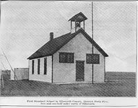 Kansas One Room School House Photographs Images: school buildings, teachers, students | Kansas Heritage Group | www.kansasheritage.org