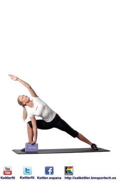 Yoga Block - Kettler es una empresa alemana dedicada a la fabricación de máquinas de fitness.  http://satkettler.bmsportech.es