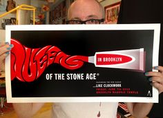 QOTSA  Brooklyn Poster by Kii Arens