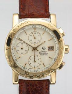 #18k #gold #girardperraux #watch  http://www.attenboroughjewellers.co.uk/products/213/MENS-18CT-GOLD-GIRARD-PERREGAUX-GP7000-CHRONOGRAPH-WATCH.htm