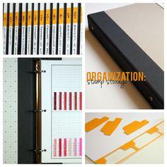 Stamp Storage Organization